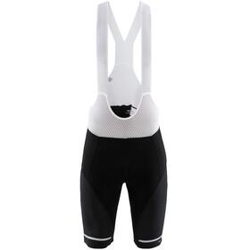 Craft Hale Bib Shorts Heren wit/zwart